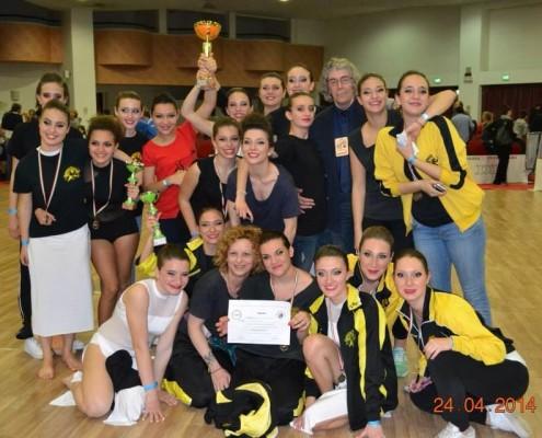 1* posto Campionati Italiani 2014