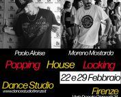 Stage di Popping, Locking & House con Moreno Mostarda e Paolo a Firenze