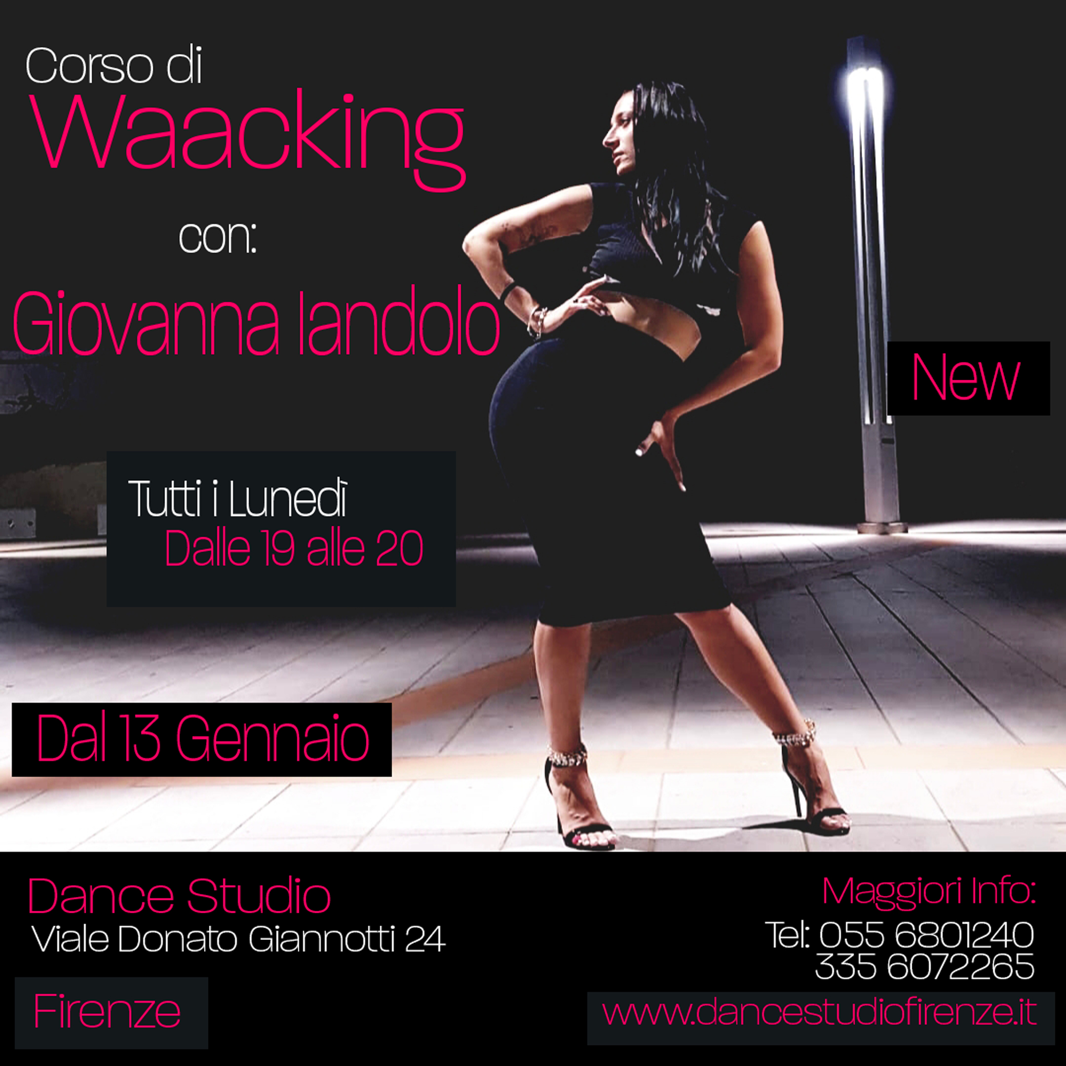 Corso di Waacking al Dance Studio Firenze