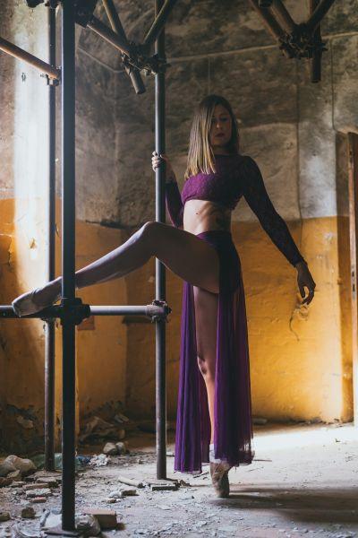 Foto Irene Matassi Insegnante Modern Dance Studio
