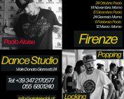 Stage di House, Popping & Locking a Firenze con Paolo Aloise e Moreno Mostarda a Firenze